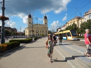 Debrecen and a tram:)