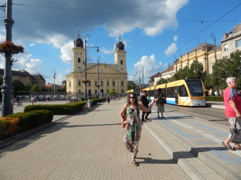 Debrecen and a tram:)